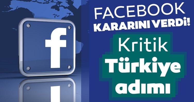 Son dakika haberi: Facebook kararını verdi: Türkiye'den açıklama geldi!