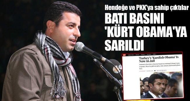Batı basını 'Kürt Obama'ya sarıldı