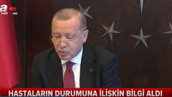 Başkan Erdoğan, Cerrahpaşa Tıp Fakültesindeki Hasta ve Doktorlarla Görüştü!