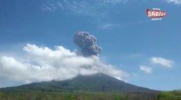 Endonezya'daki Ili Lewotolok Yanardağı'nda art arda patlama   Video
