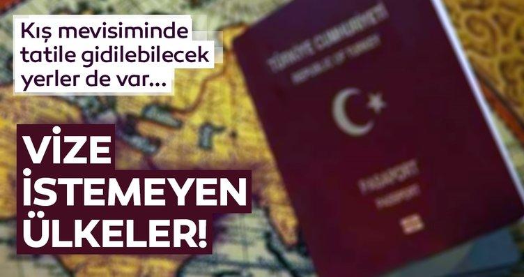 2018 sonu itibariyle Türk vatandaşlarından vize...
