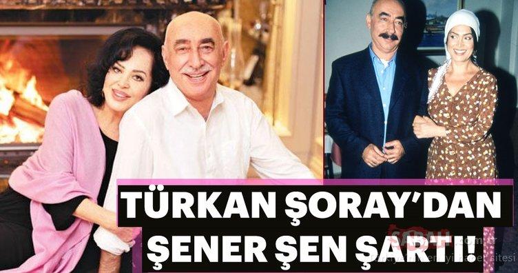 Türkan Şoray: Sinemaya ancak Şener Şen'le dönerim!