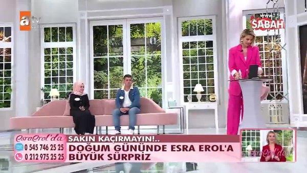 Doğum gününde Esra Erol'a büyük sürpriz | Video