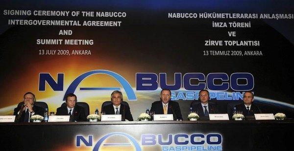 Nabucco'da imzalar atıldı