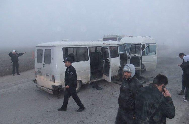 Kütahya'da trafik kazası