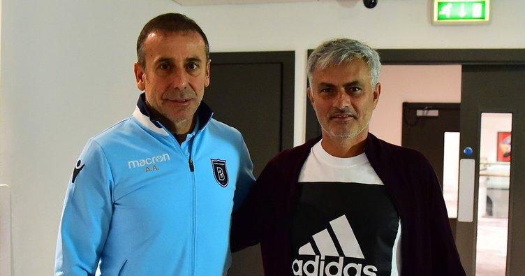 Jose Mourinho'dan Başakşehir'e ziyaret