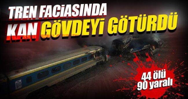 Katliam gibi tren kazası