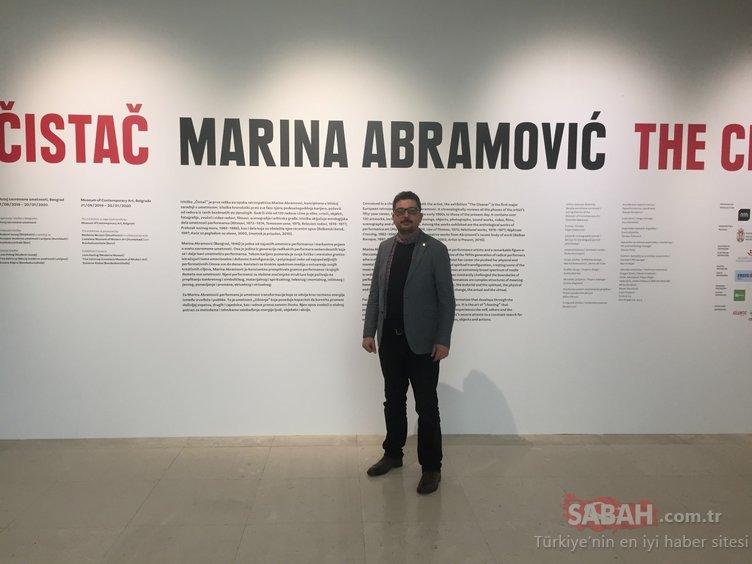Yeni yılın en iddialı sanat olayı Marina Abramovic sergisi olacak