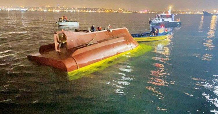 Alabora olan teknede boğularak can verdiler! Gemi mürettebatının ölümüne neden olanlar yargılanacak