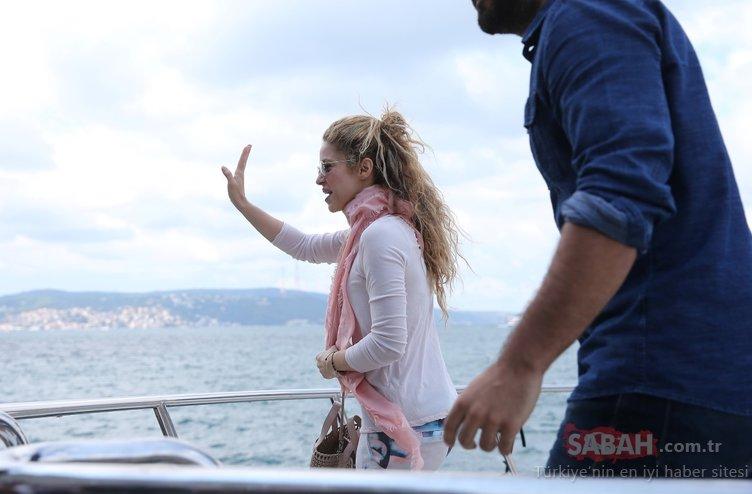 Shakira'nın Boğaz keyfi