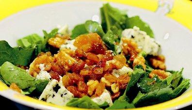 Rokforlu Roka Salatası
