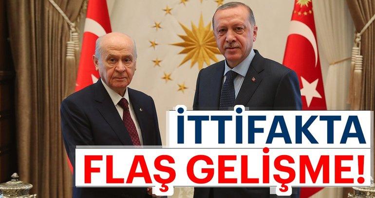 AK Parti ile MHP arasında ittifak görüşmesi
