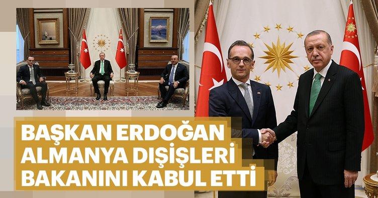 Başka Erdoğan, Almanya Dışişleri Bakanını kabul etti