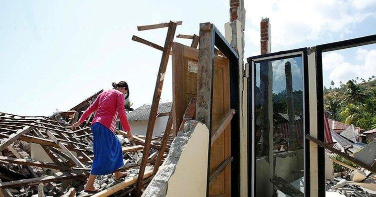 Endonezya'da ölü sayısı 387'ye çıktı