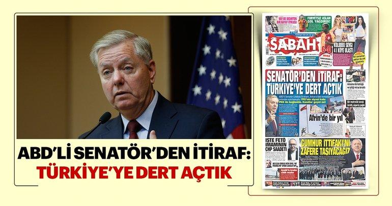 ABD'li senatör'den itiraf: YPG, PKK'nın uzantısı
