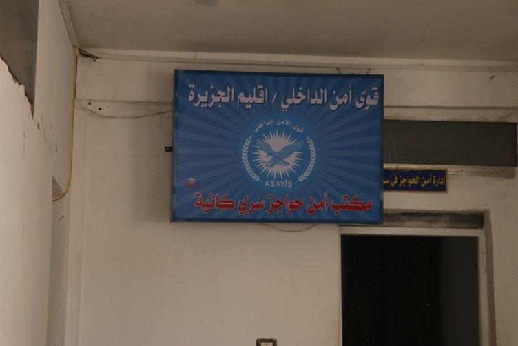 YPG/PKK Rasulayn'daki okulu karargah olarak kullanmış!