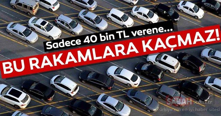 40 bin TL'ye hangi otomobiller alınır? Sahibinden 2. el en uygun otomobiller