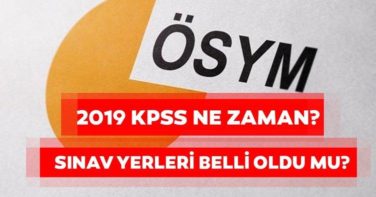 KPSS 2019 ne zaman? KPSS sınav yerleri ve giriş belgesi yayında mı?