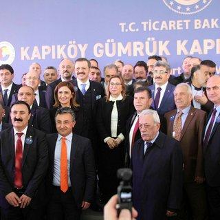 Kapıköy Gümrük Kapısı törenle açıldı