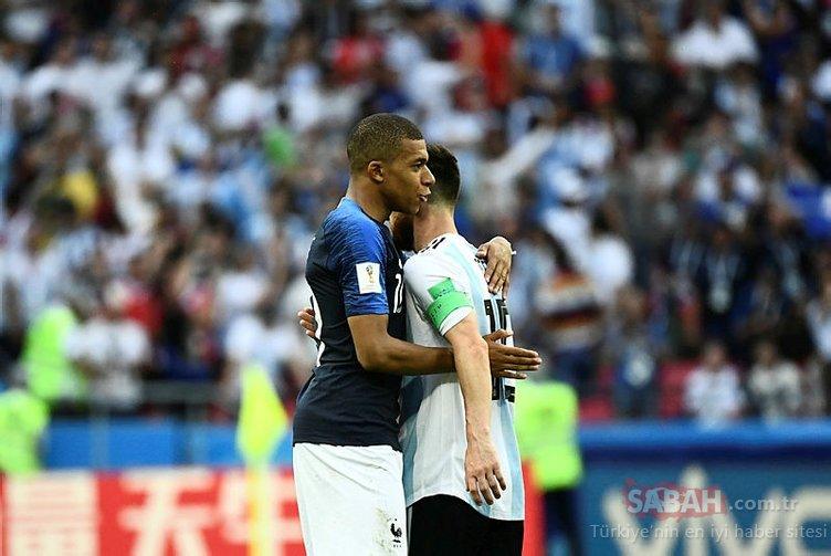 Lionel Messi ve Kylian Mbappe, Dünya Kupası tarihine geçtiler