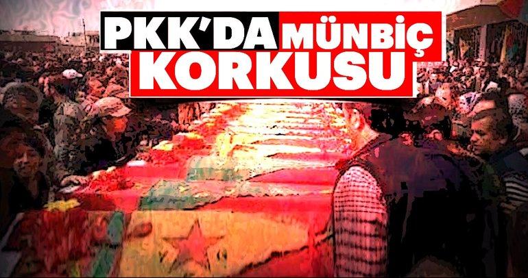 PKK'da Münbiç korkusu
