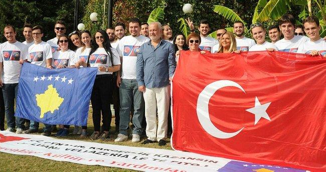 Kosovalı öğrenciler iki takıma destek verecek
