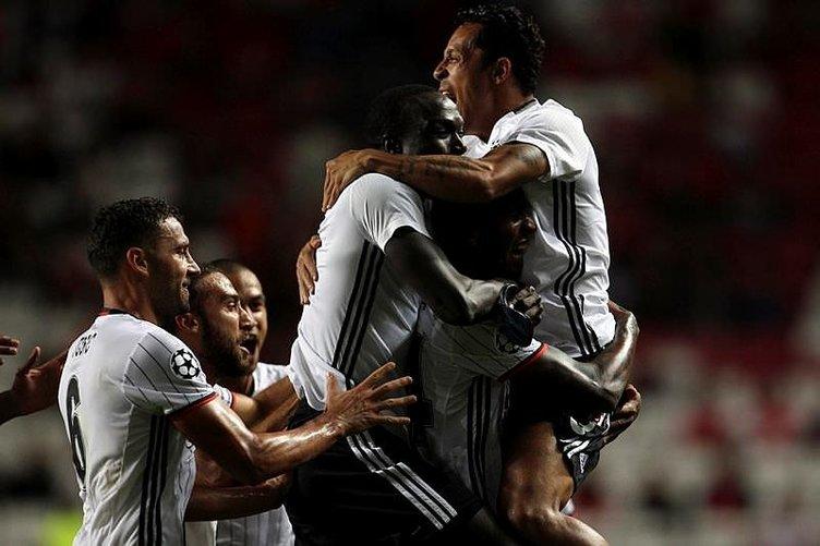 Benfica - Beşiktaş maçı Twitter'ı salladı