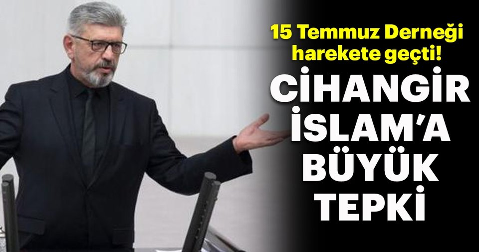 SP'li Cihangir islam'a tepki!