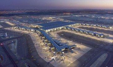 İstanbul Havalimanı yolcu sayısında Avrupa'nın birincisi oldu