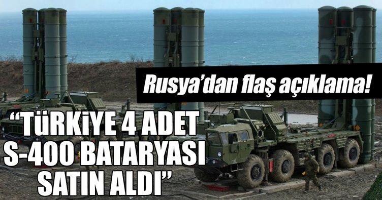 Son Dakika Haberi: Türkiye, 4 adet S-400 bataryasını satın aldı