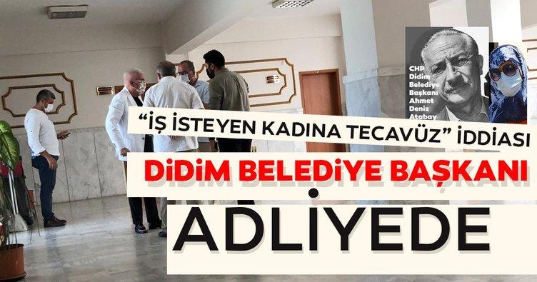 SON DAKİKA... Didim Belediye Başkanı Atabay adliyede