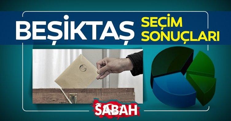 Beşiktaş seçim sonuçları! 23 Haziran İBB seçimleri Beşiktaş'ta Binali Yıldırım mı Ekrem İmamoğlu mu önde?