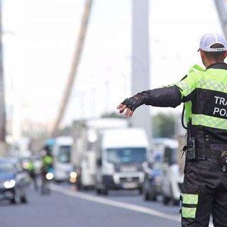 Egzoz muayenesi yaptırmayan sürücüye bin 206 lira para cezası