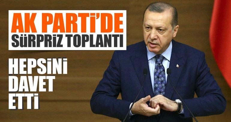 Son Dakika... Cumhurbaşkanı Erdoğan kabineyi ve vekilleri görüşmeye çağırdı