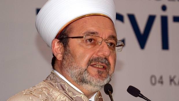 Görmez: Diyanet 24 saat Kur'an-ı Kerim basıp kardeşlerimize göndereceğiz