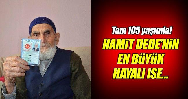 Cumhurbaşkanı Erdoğan hayranı 105 yaşındaki dede!