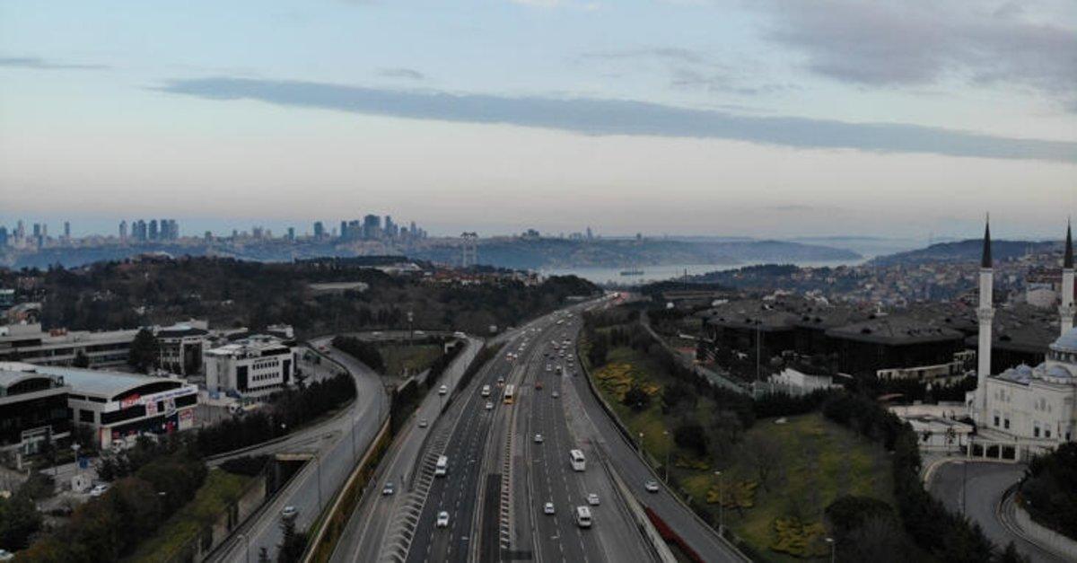 İşte corona virüsün İstanbul trafiğine etkisi