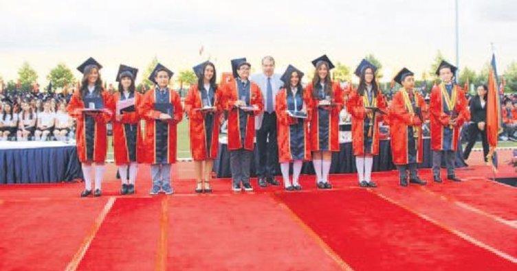 TED Ankara Koleji'nde mezuniyet sevinci