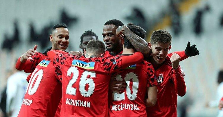 Beşiktaş'ın Galatasaray derbisi kadrosu açıklandı