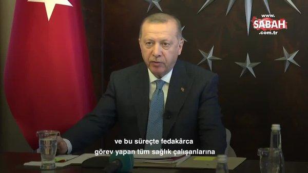 Başkan Erdoğan'dan koronavirüsle ilgili açıklamalar | Video