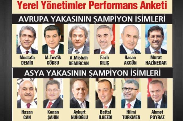 En başarılı belediye başkanı kim?