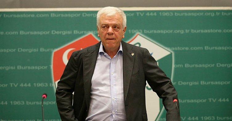 Bursaspor Başkanı Ali Ay'dan Grosicki ve Harun Tekin açıklaması