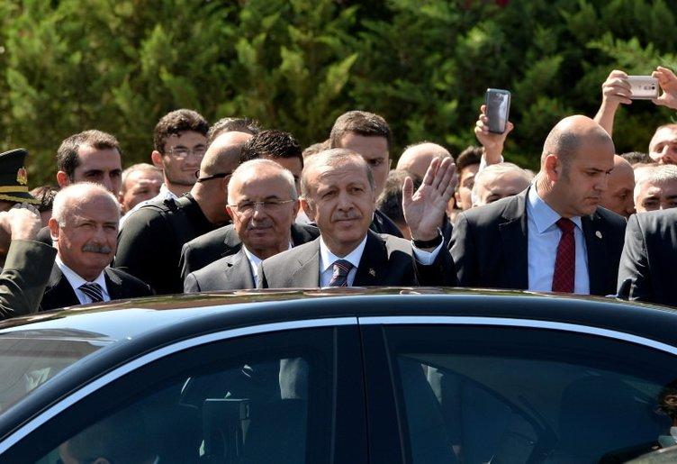 Vatandaştan Erdoğan'a büyük ilgi