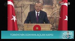 Son dakika Haberi | Cumhurbaşkanı Erdoğan'dan tarihi müjde Karadeniz'de 320 milyar metreküp doğal gaz rezervi keşfedilmiştir | Video