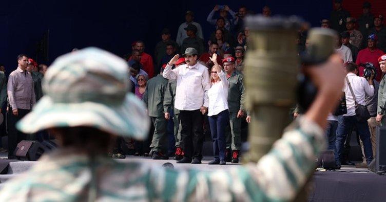 Venezuela'da Bolivarcı Milis Gücünün sayısı 2 milyonu aştı