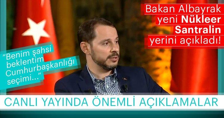 Enerji ve Tabii Kaynaklar Bakanı Berat Albayrak: Seçim 24 Haziran'da neticelenir