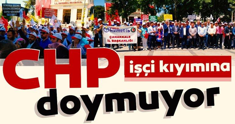 CHP işçi kıyımına doymuyor İşten atıldılar, eylem yaptılar