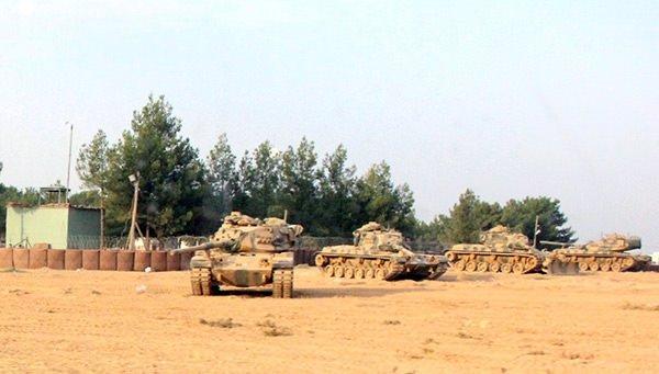 Türkiye Cerablus'a askeri harekat başlattı