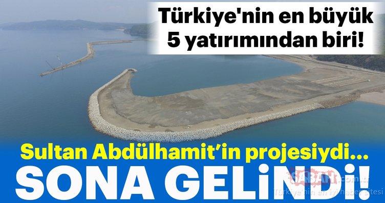 Türkiye'nin en büyük 5 yatırımından biri! Sultan Abdülhamit'in projesinde sona gelindi...