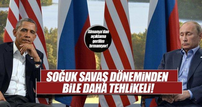 Almanya Dışişleri Bakanlığından ABD-Rusya gerginliğine dair açıklama